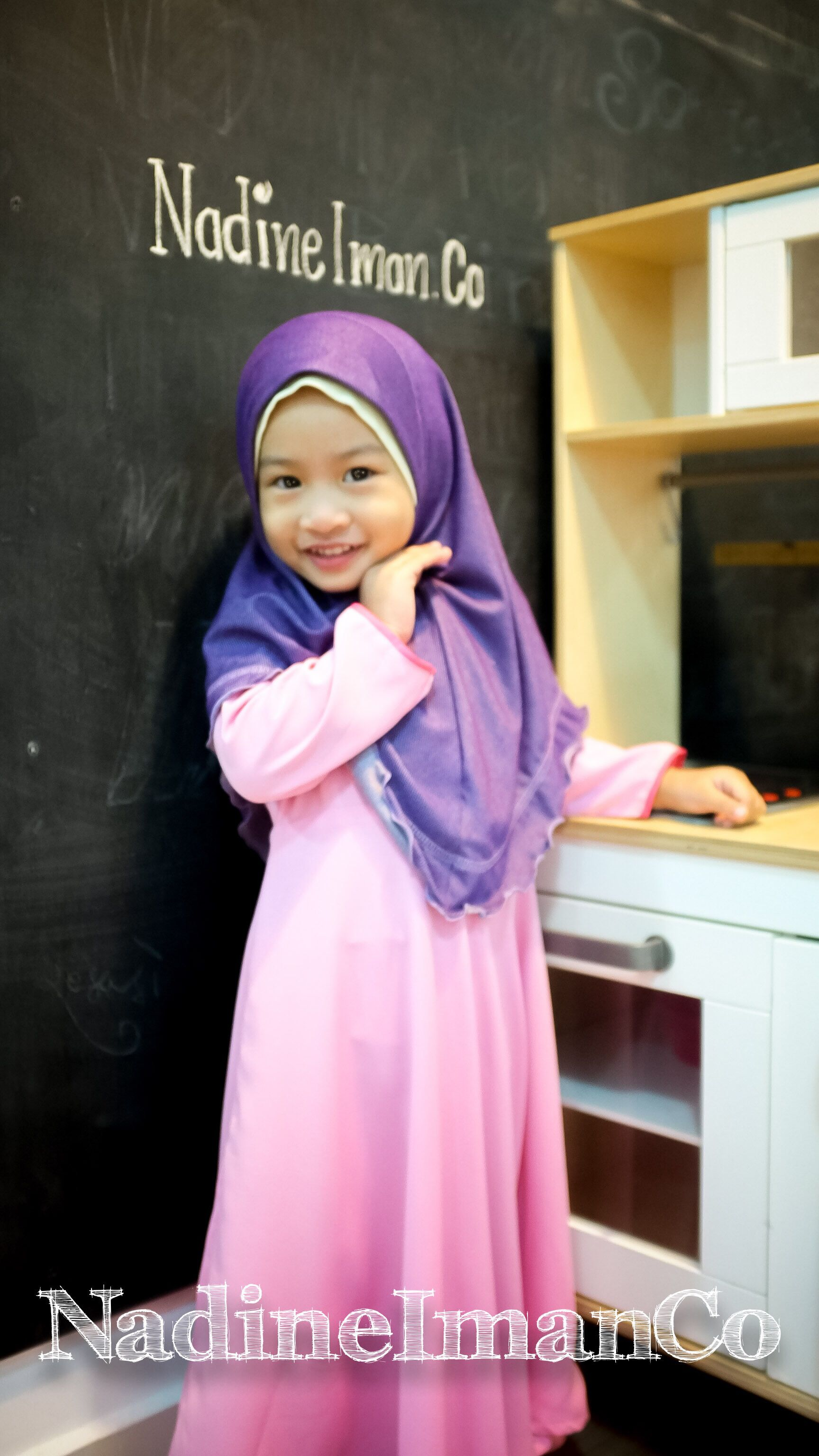 Happy Kids And Smile Kuva Kids And Young Muslim In Hijab