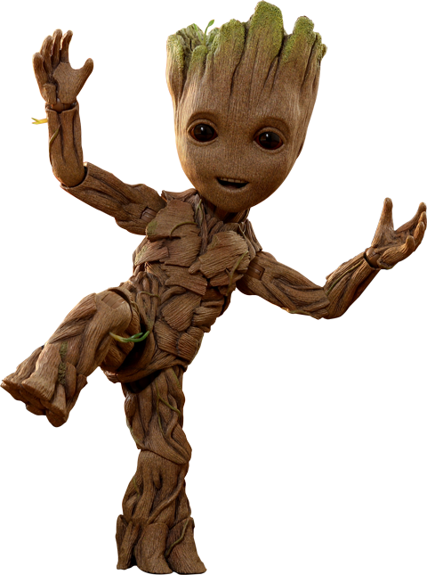 Hot Toys Baby Groot Life Size Figure
