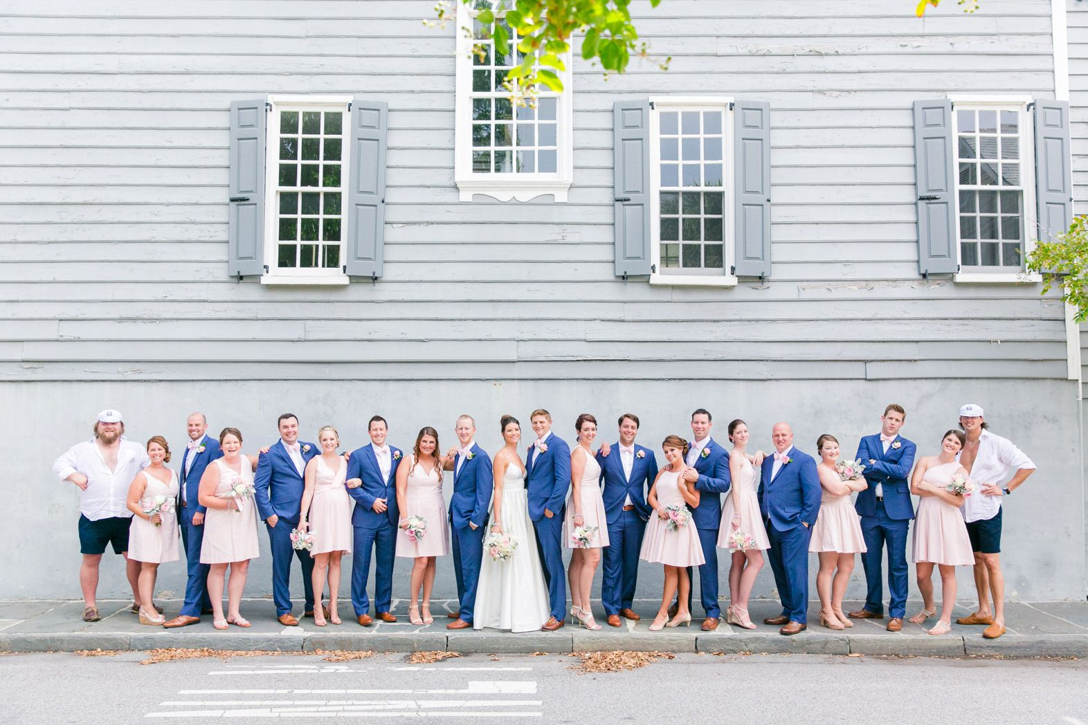 Navy blue suits and blush bridesmaid dresses nautical navy navy blue suits and blush bridesmaid dresses nautical navy blush cottage on the creek ombrellifo Image collections