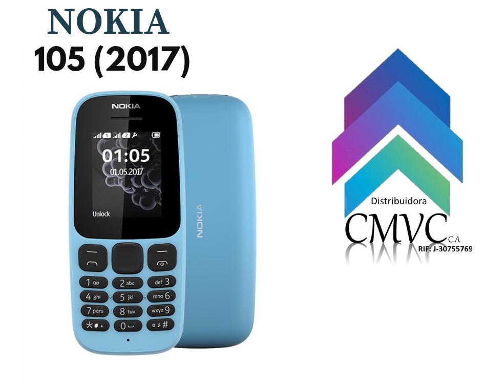 """Nokia 105 (2017) Características • PANTALLA 1.8"""", 120 X"""