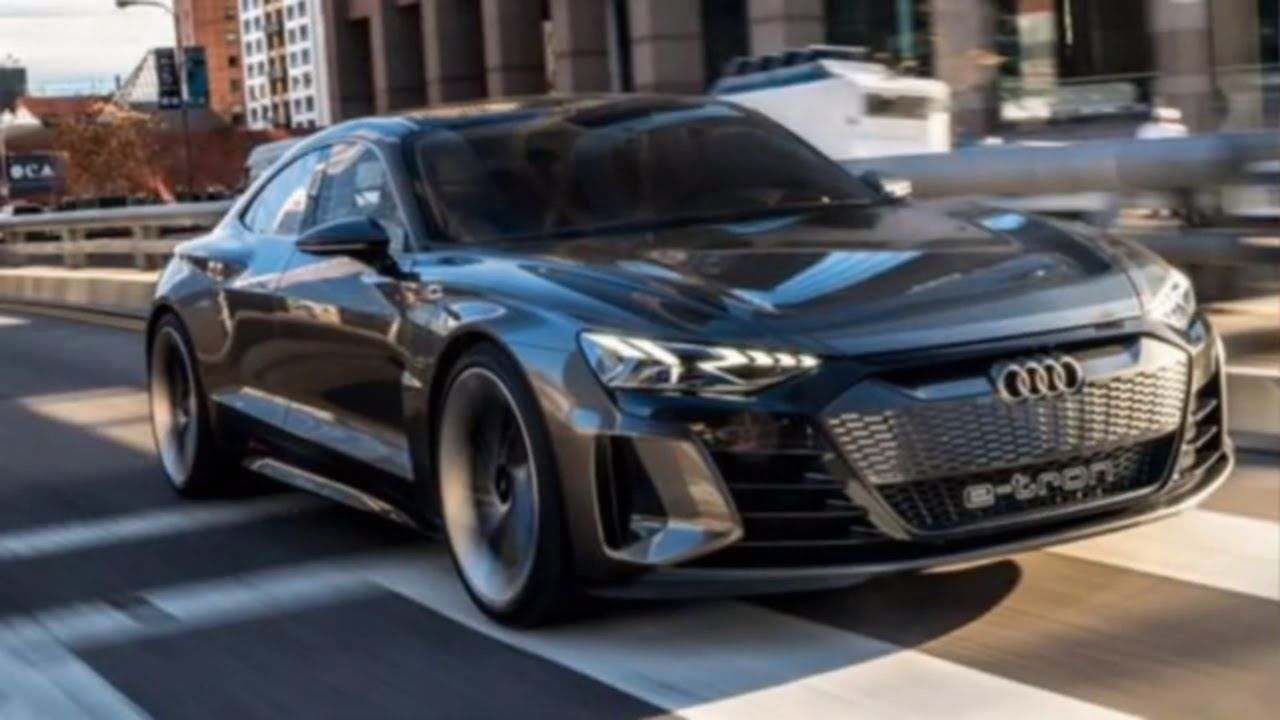 2020 Audi eTron GT Powerful and Luxury Electric Vehicle