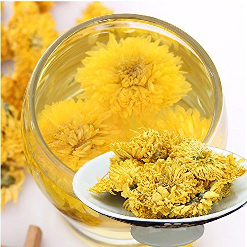 Mount Huangshan Jiangxi Wuyuan Xiao Huang Ju Big Yellow Chrysanthemum Chrysanthemum Tea Chrysanthemum Tea A Chrysanthemum Tea Fresh Fruit Yellow Chrysanthemum