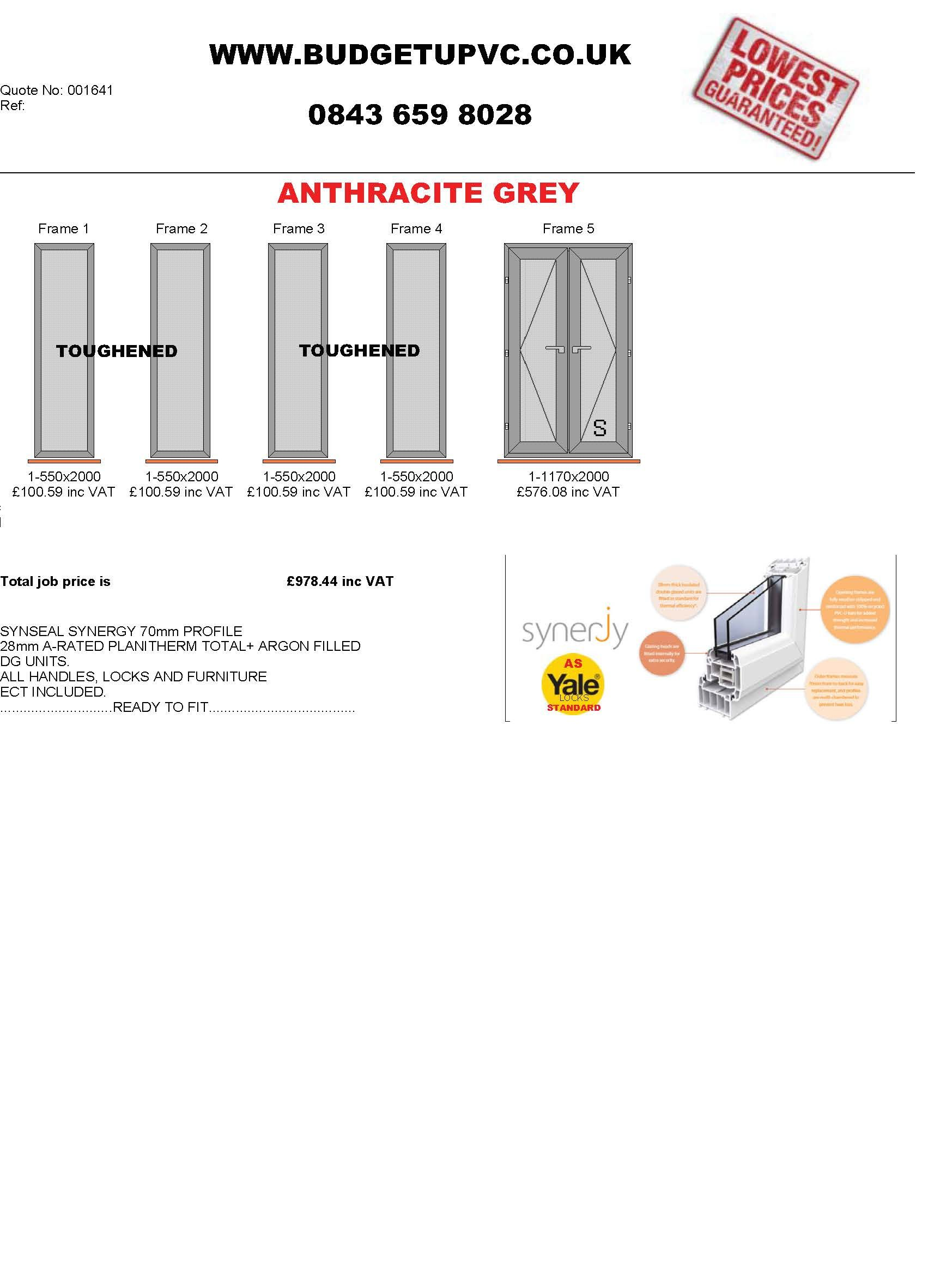 Buy Trade Diy Double Glazed Upvc Windows Doors Online Budgetupvc Glazing Diagram