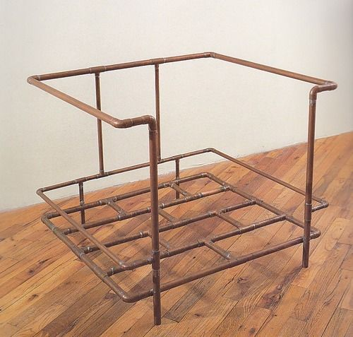 "Jorge Pardo, ""Le Corbusier Chair"" 1990  Art Experience NYC  www.artexperiencenyc.com"