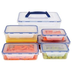 Cheap 12pc Locking Storage Container Set in Bulk Home again Home