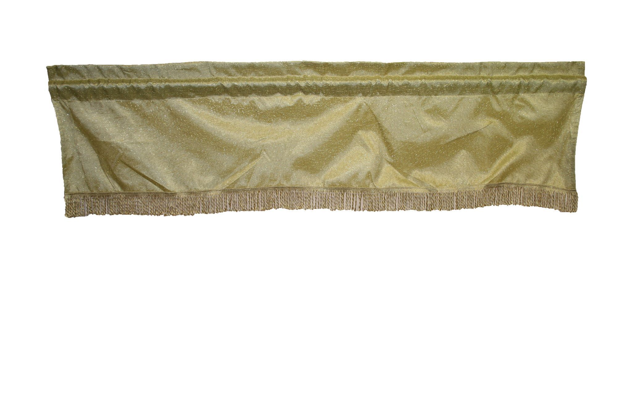 "Monte Carlo Rod Pocket Tailored 60"" Curtain Valance"