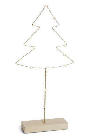 Arty Led Wire Christmas Tree Decoration Nordstrom Christmas Tree Decorations Tree Decorations Christmas Tree