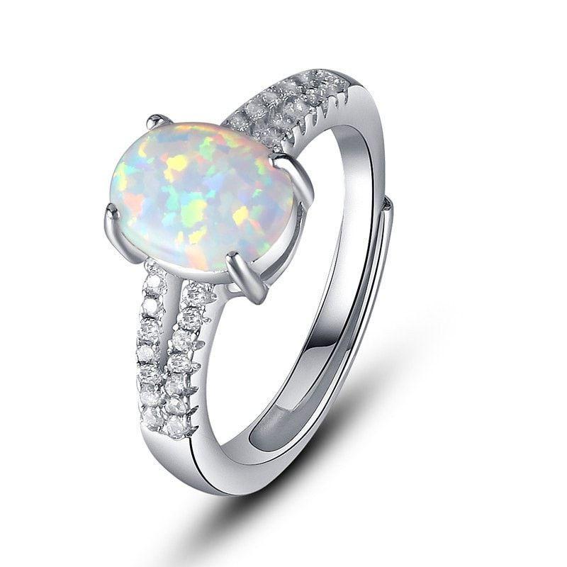 beautiful mewejewelry rings opalrings Sterling silver
