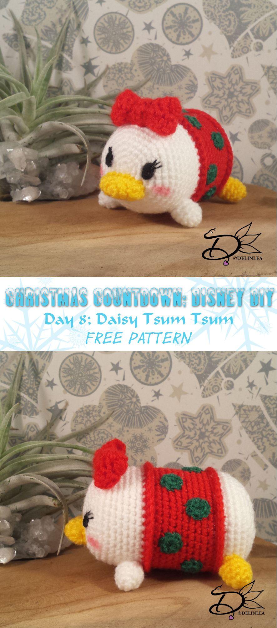 Daisy Tsum Tsum Amigurumi with Free Pattern | crochet | Pinterest ...