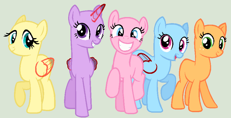 Mlp Base Google Search Drawing Poses And Bases Mlp Base Mlp