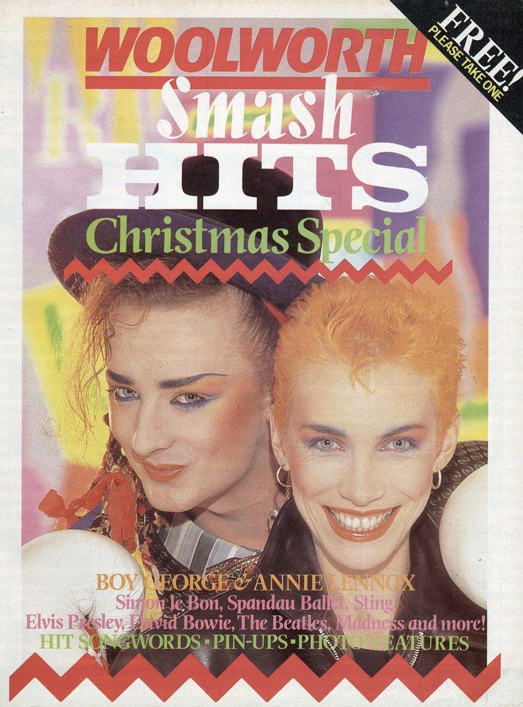 lennox christmas. boy george \u0026 annie lennox - smash hits christmas special a