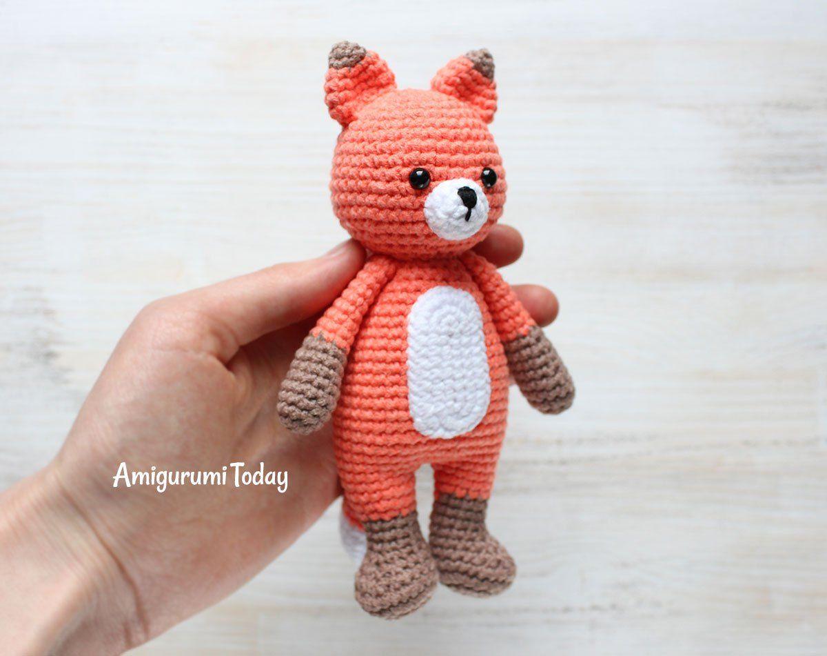 Patrón de amigurumi de Cuddle Me Fox gratis | Ranas | Pinterest ...