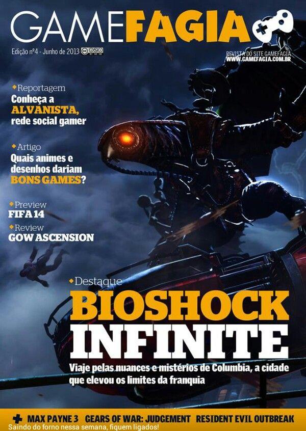 Capa da Gamefagia#4