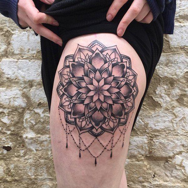 3c5f51ffb 40 Intricate Mandala Tattoo Designs | Mandala Tattoos | Mandala ...