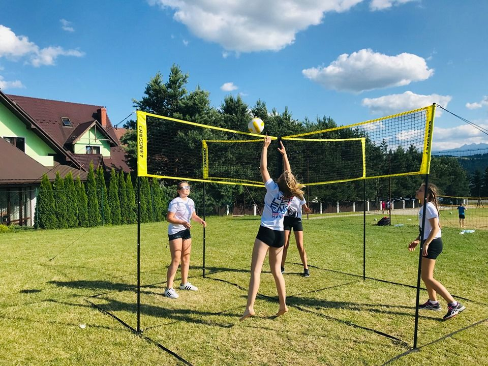has a sensation at Volleyball Academy