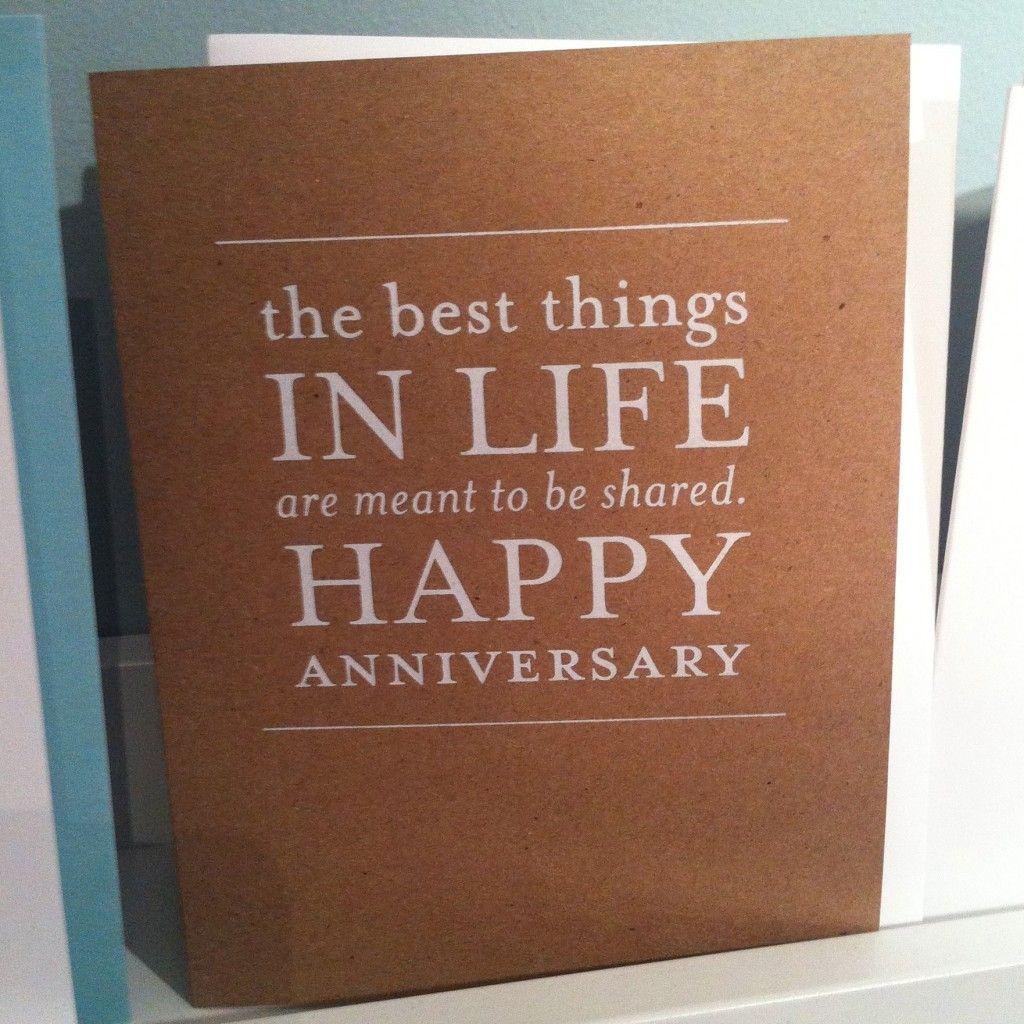 Sugar Paper Anniversary Card via K Flick Studio