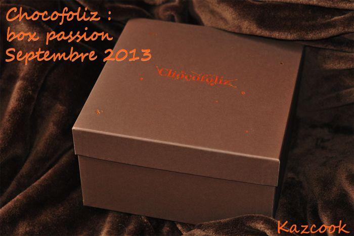 Impossible de resister avec Chocofoliz ! Voici la box passion pour des gourmandises 100% chocolat, plaisir garanti ! :p http://kazcook.com/blog/archives/930-Chocofoliz-la-box-a-ne-pas-louper-pour-les-chocoaddicts-!.html