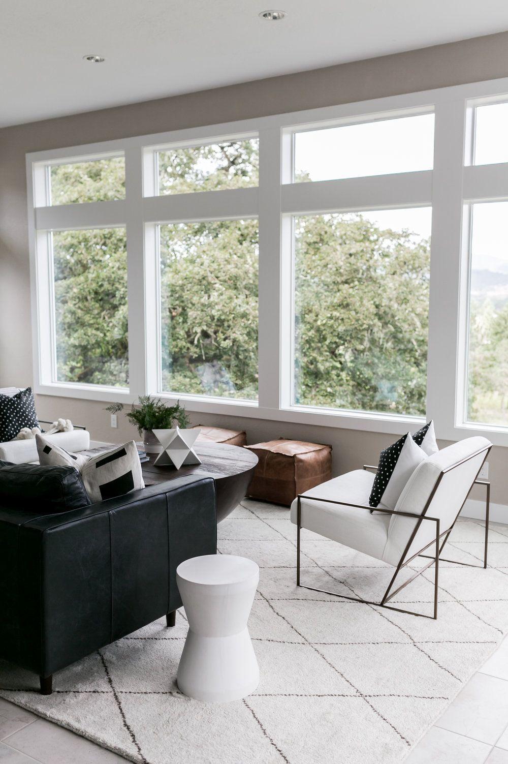 Light And Dwell Corvallis Minimal Industrial Living Room, Cozy Modern  Interior Design