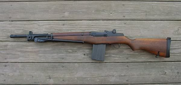 The Beretta BM59 is an Italian assault rifle based off the