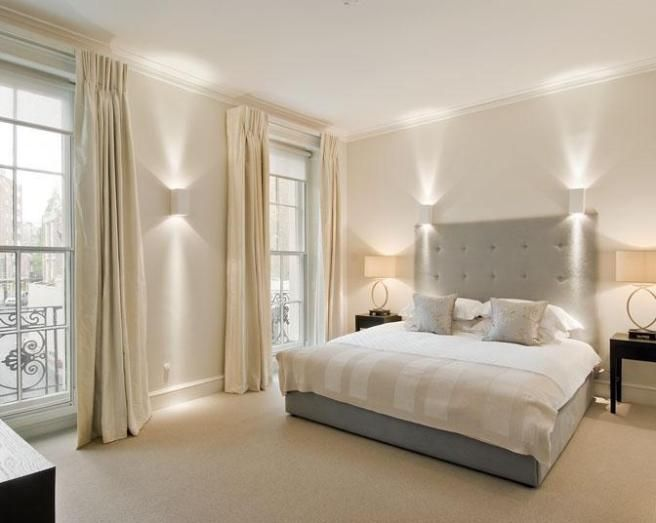 Amazing style white and silver bedroom photo of beige grey - Grey white and silver bedroom ideas ...