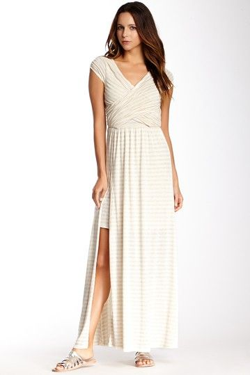 Wrap Front Maxi Dress on HauteLook