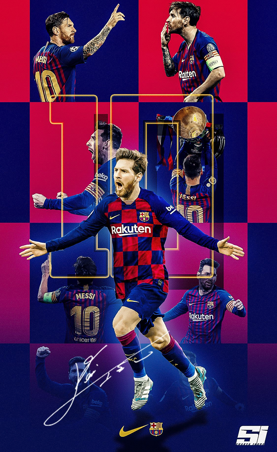 Download Messi Fc Barcelona Wallpaper 2020