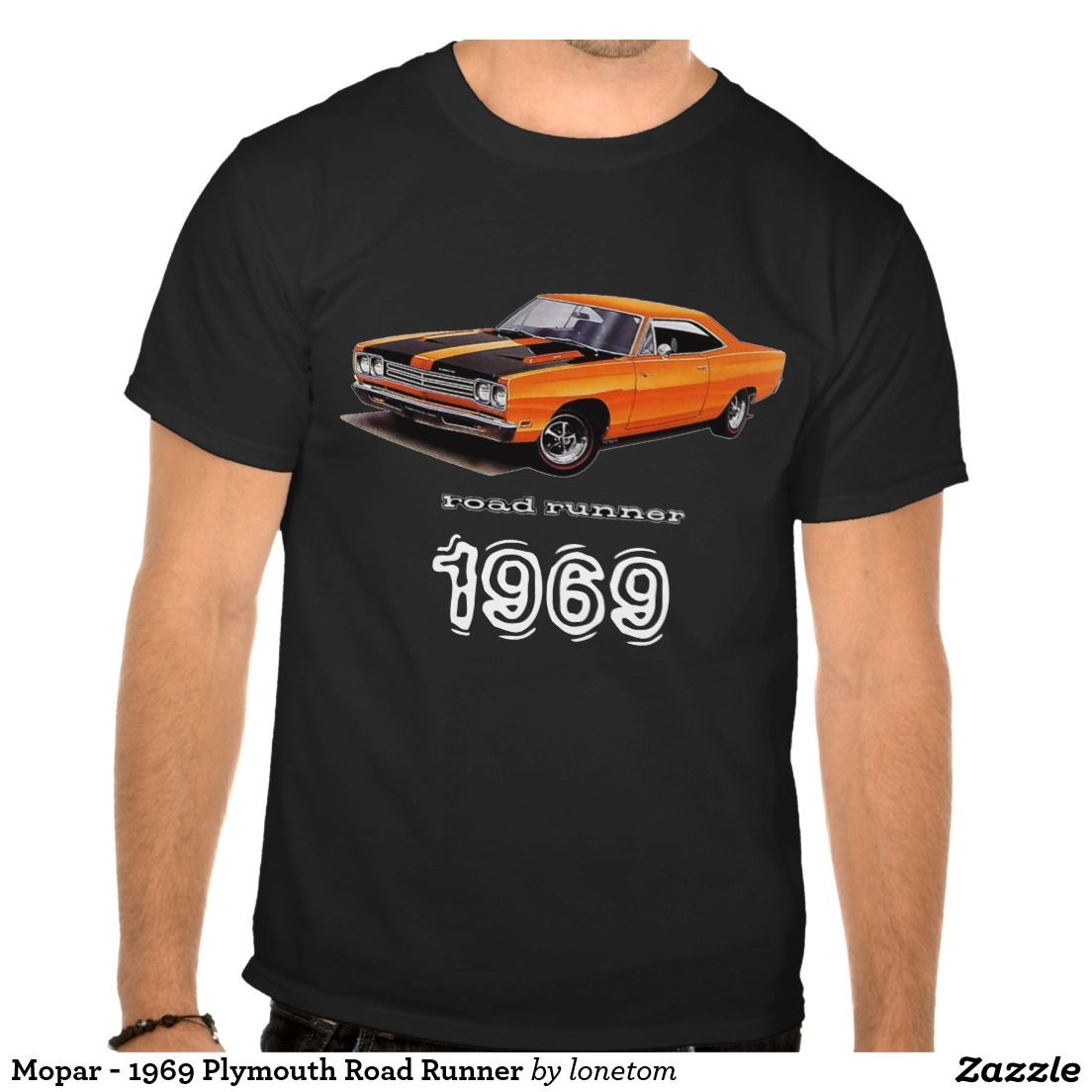 fbb552a8 Mopar - 1969 Plymouth Road Runner T-Shirt | Zazzle.com | 69 ...