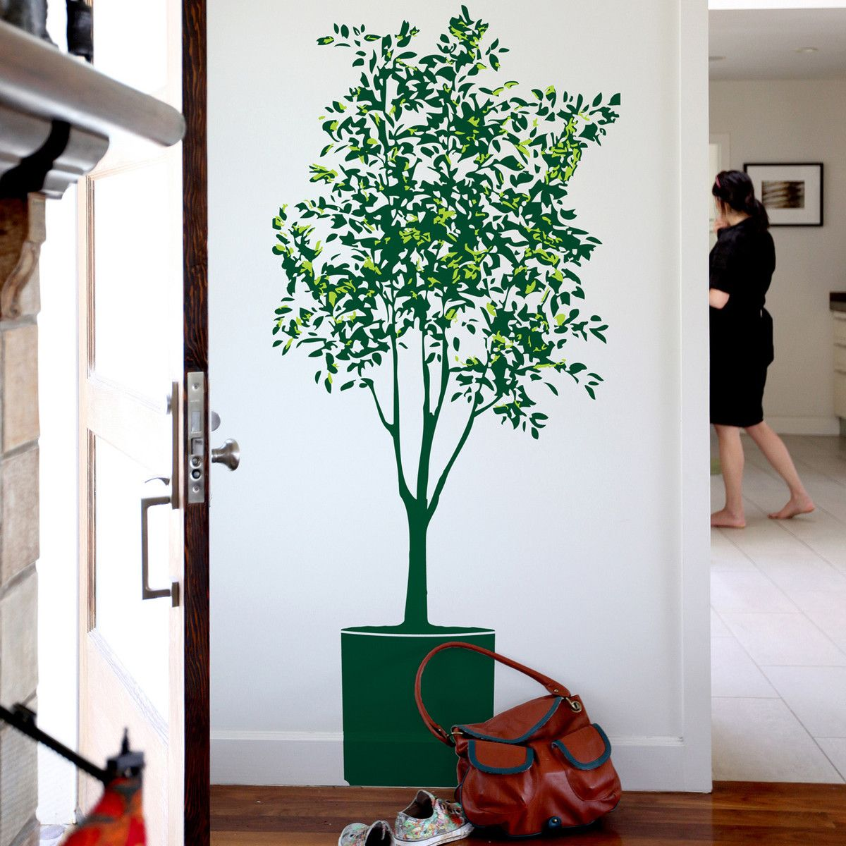 Olive Tree Wall Decal Set by Mina Javid for Blik Surface Graphics