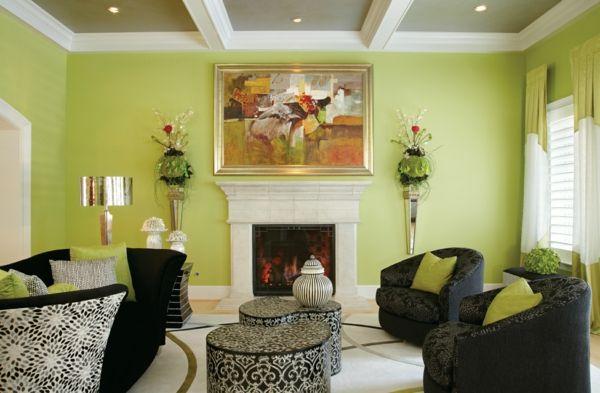 Wohnideen Wohnzimmer Wandfarben Wohnidee