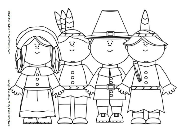 Thanksgiving Coloring Pages | Color Pages | Pinterest | Thanksgiving ...