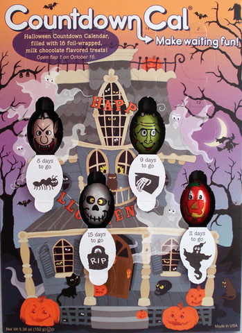 Countdown to #Halloween calender, not for kids alone!