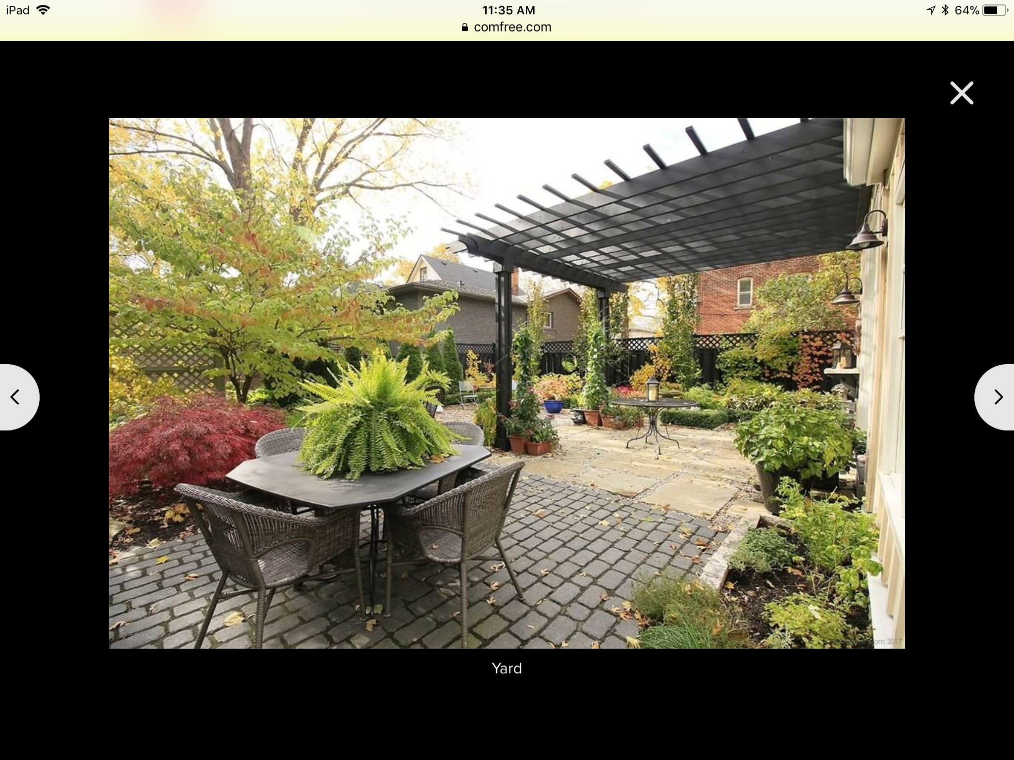 A House Near Me With A Fab Back Yard Backyard Outdoor 400 x 300