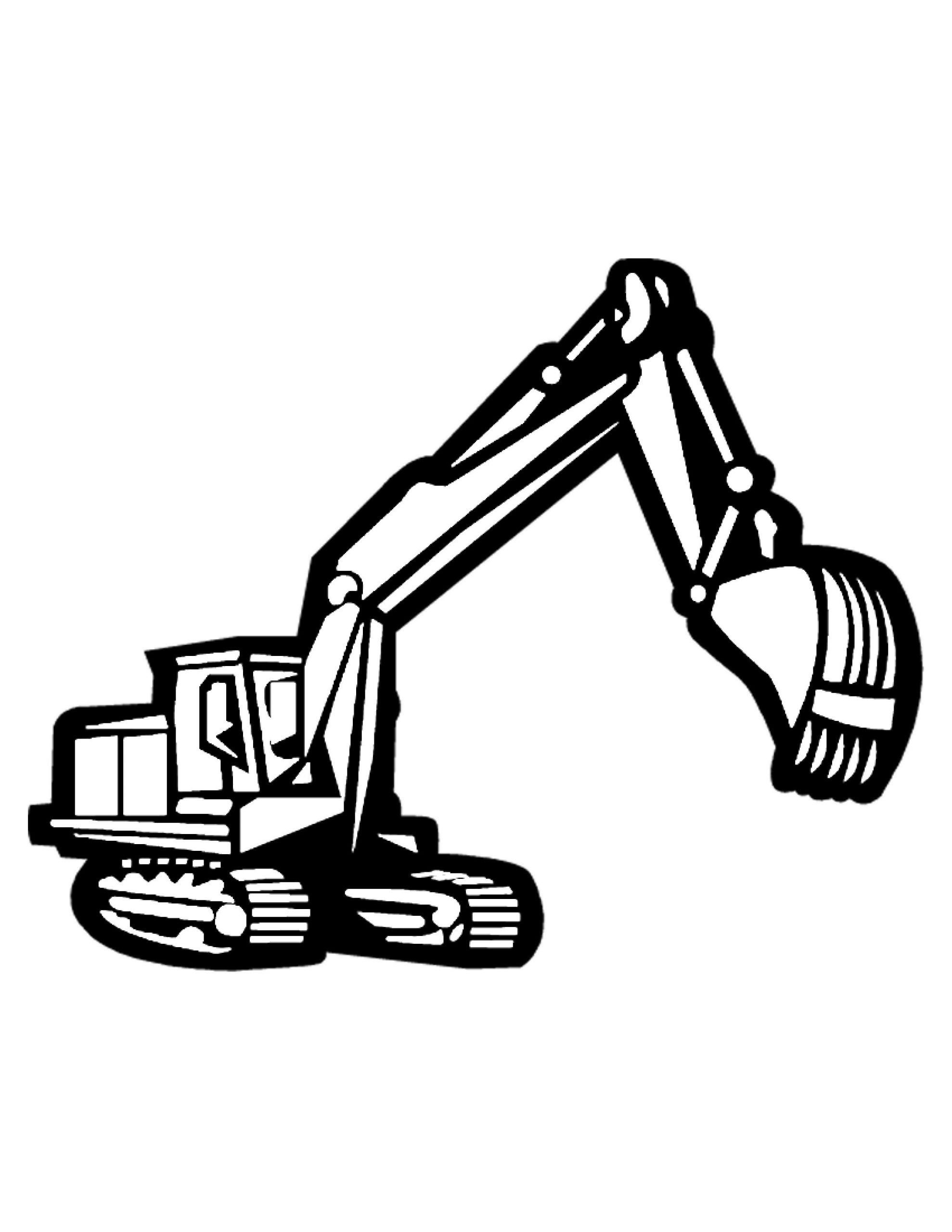 Free Construction Coloring Pages Book In