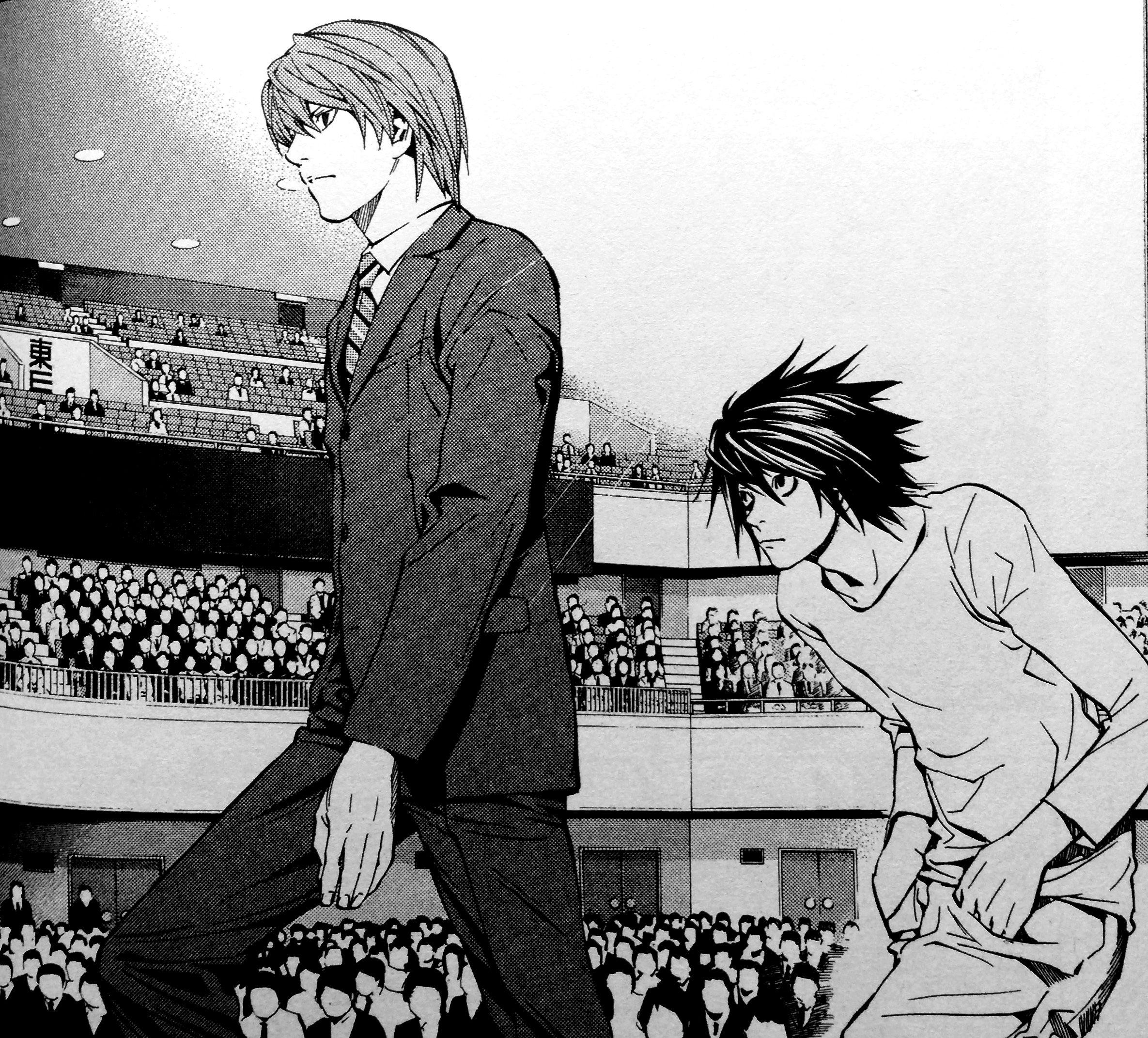 Death note manga tsugumi ohba and takeshi obata - Manga death note ...
