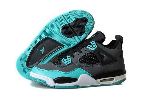 7d848e2874c9 Nike Air Jordan Iv 4 Retro Mens Shoes Tiffany Blue Gray Switzerland ...