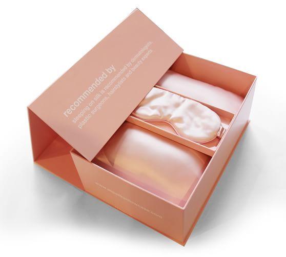 Slip® Silk Travel Set   Pottery Barn   Travel set, Jewelry packaging, Silk eye  mask