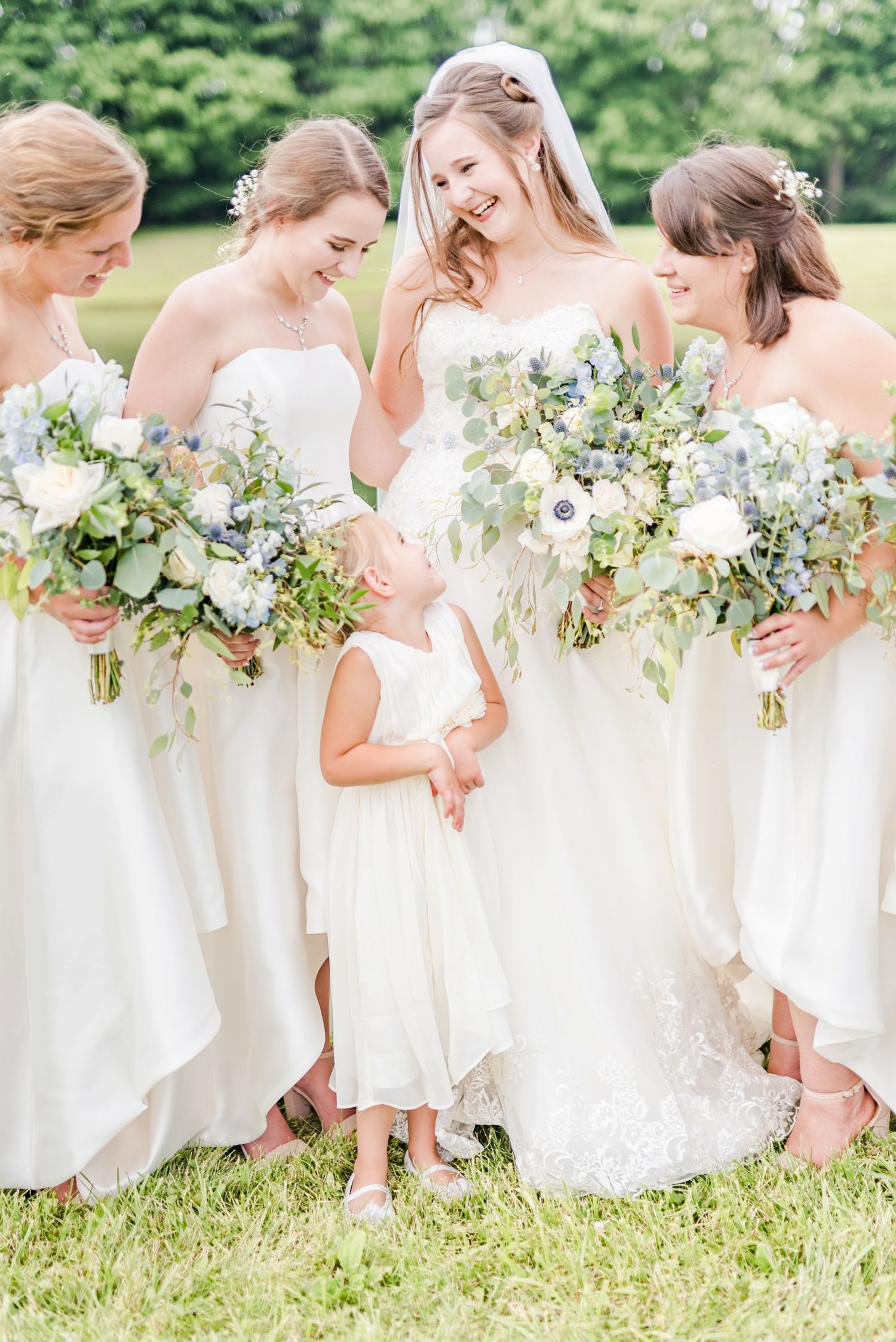 Best Of Weddings 2018 Bridesmaid Inspiration Bridesmaid White Bridesmaid Dresses