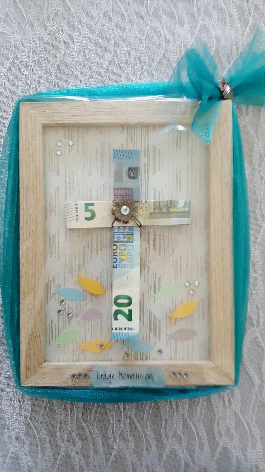 geld verpacken kommunion