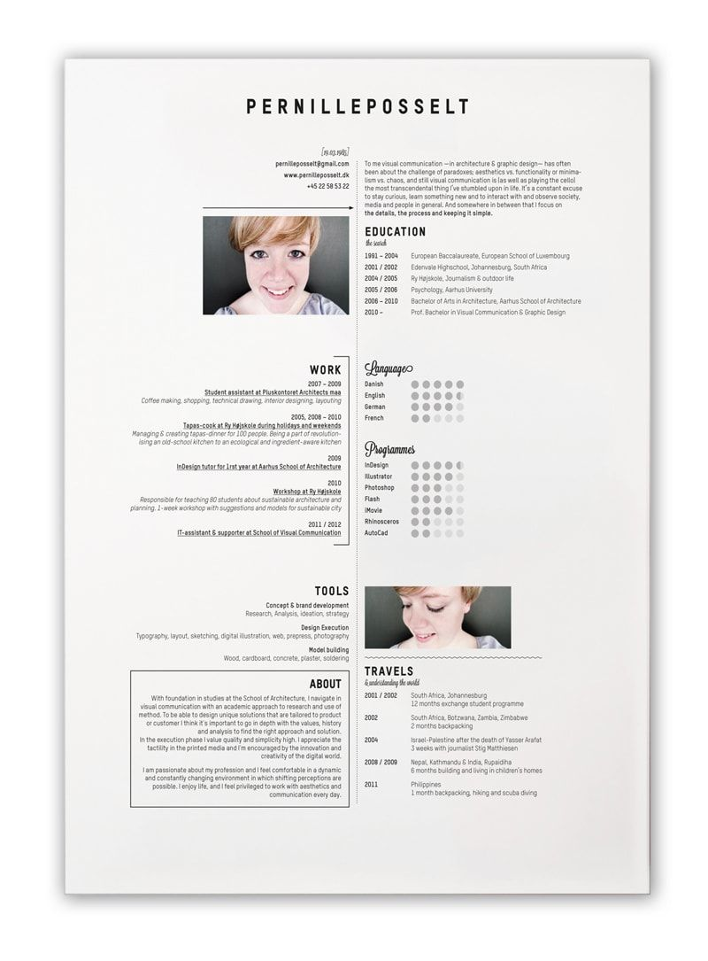 5 Cool Design Ideas for Creative Resumes (With images