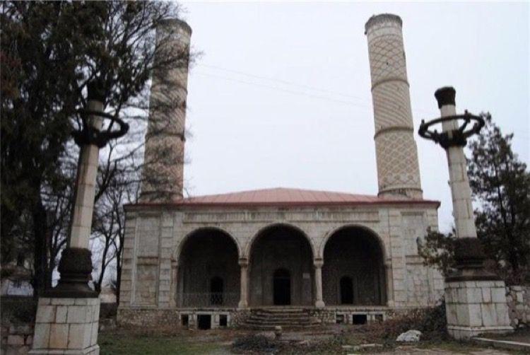 Govhər Aga Məscidi Aggression By Armenia Against Azerbaijan On May 8 1992 City Of Susa Was Occupied Armenian Historical Monuments Famous Landmarks Monument