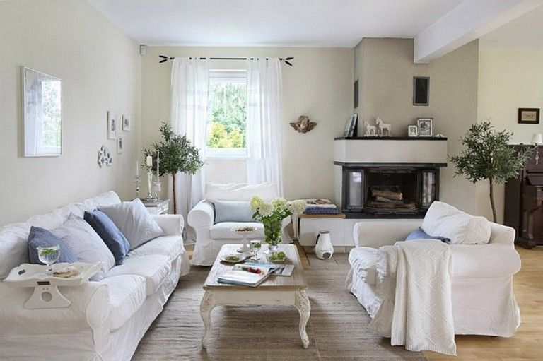 26 Exciting A Polish Romanticized Version Of Shabby Chic Cottage Style Living Room Shabby Chic Living Room Chic Living Room Polish furniture for living room