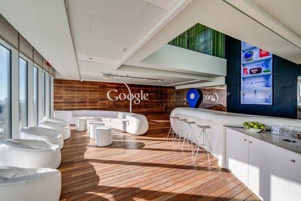 Google Office Tel Aviv - I love the natural wood element Could we