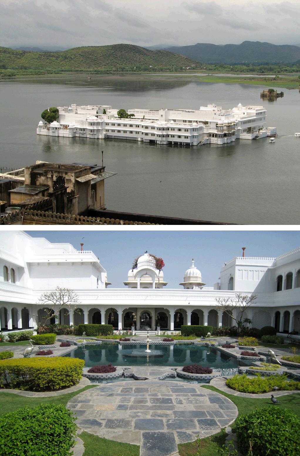 Taj Lake Palace hotel, Udaipur, India Palace hotel