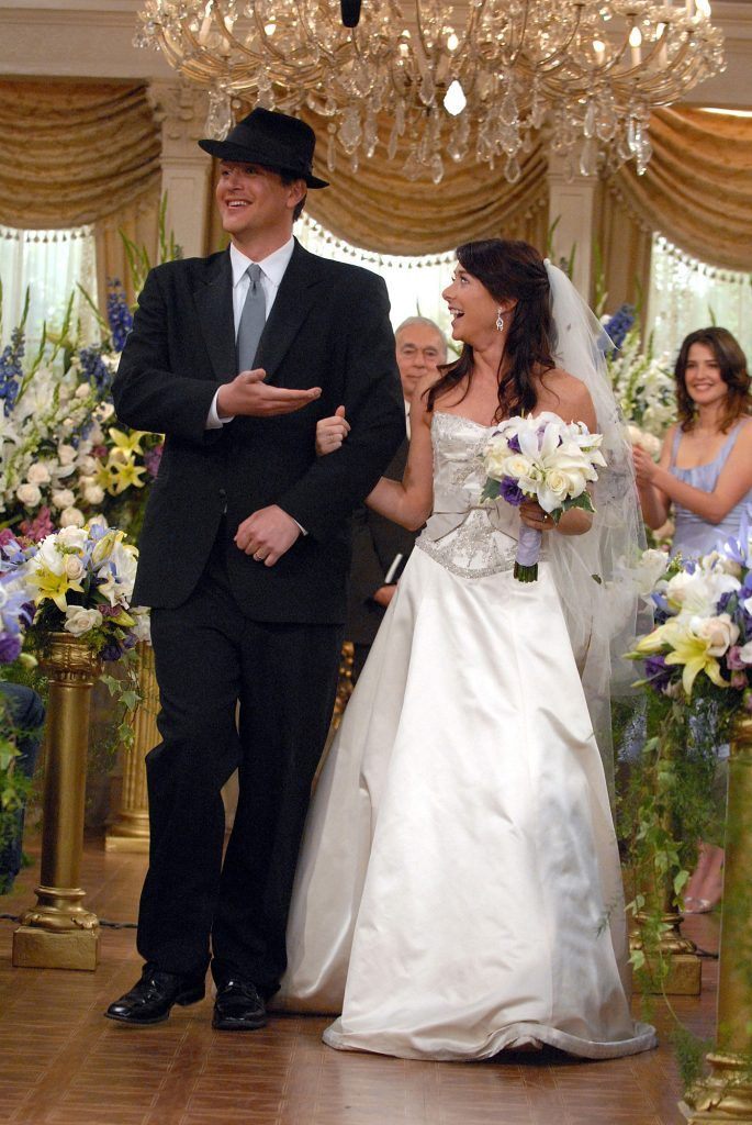How I Met Your Mother Marshall Weds Lily Tv Weddings How Met Your Mother Marshall And Lily