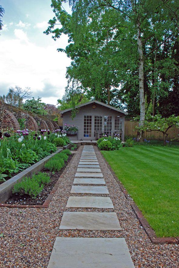 Green Room Garden Design: Country Garden - Berkshire