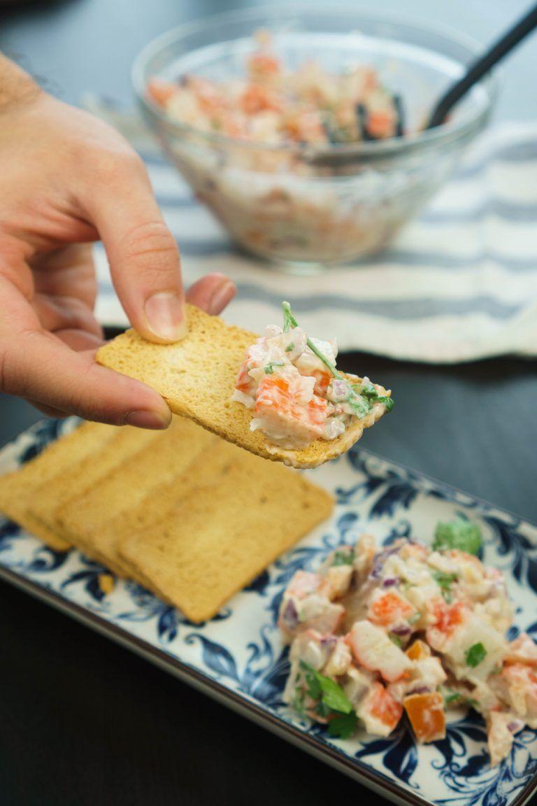 imitation crab salad  recipe  crab salad shrimp recipes imitation crab salad