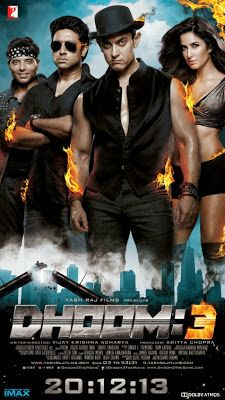 Dhoom 3 Hindi movie 2013 DVDrip Direct Free Downloads  | Bollywood