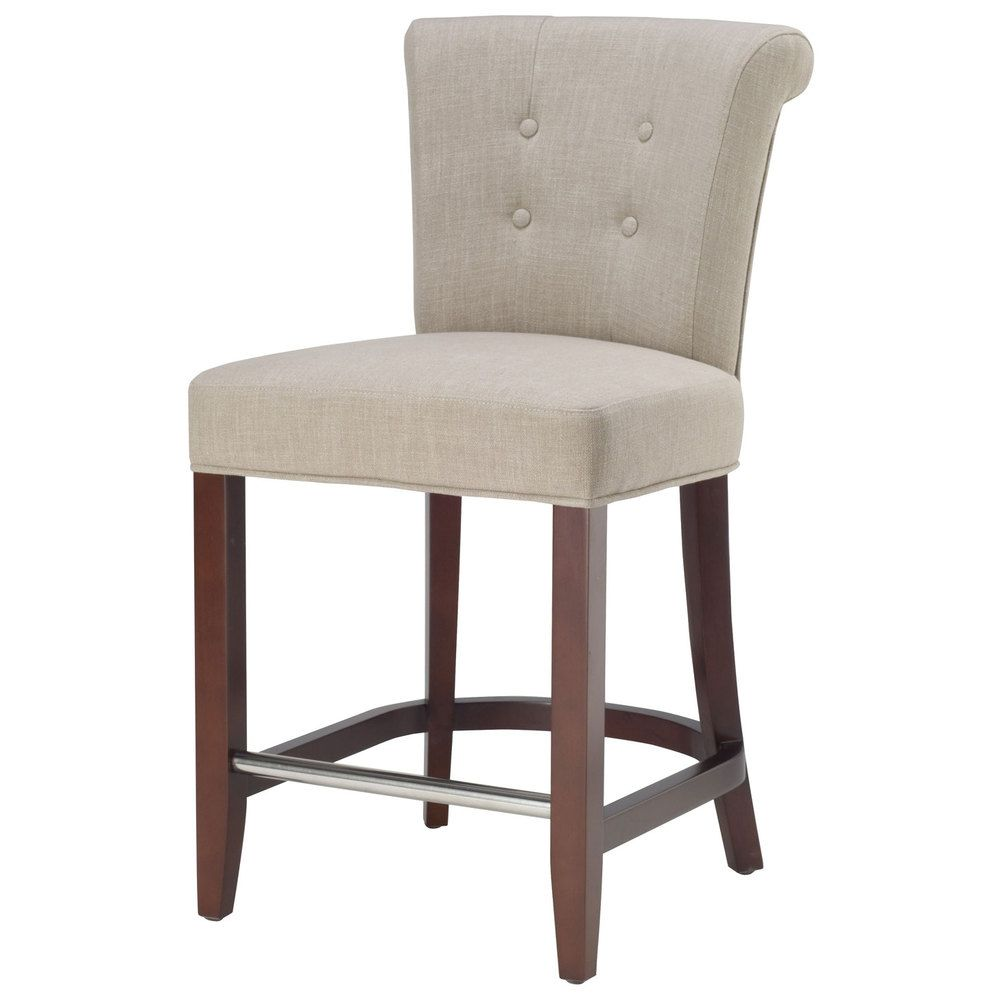 Safavieh inch parker curved back counter stool by safavieh