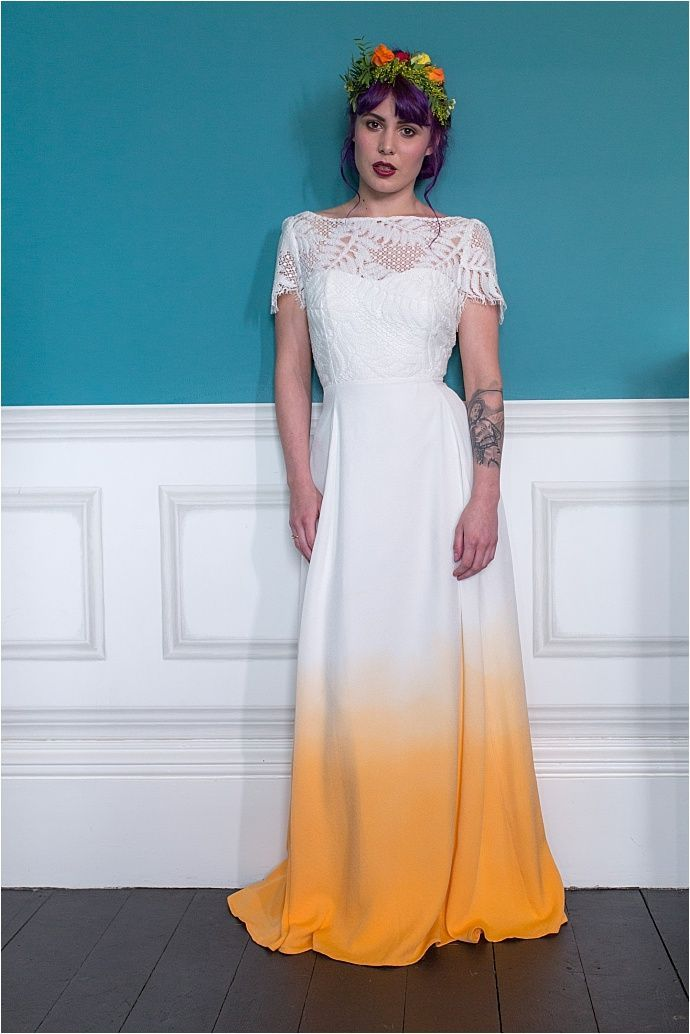 7fad0e94e879 Bespoke Collection from Lucy Can t Dance – Quirky Unique Bridal Wear…dip-dye