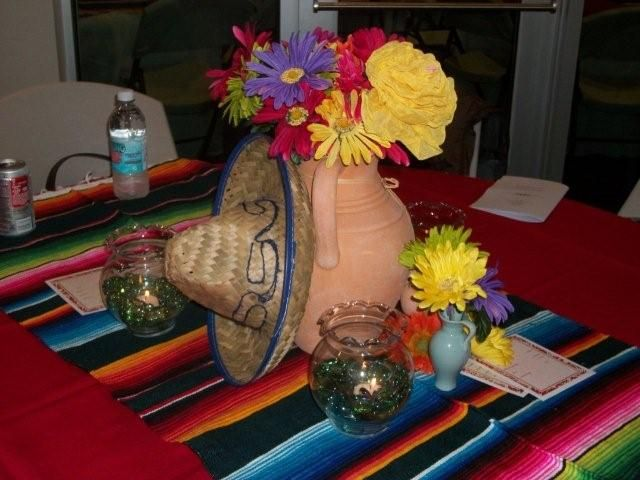 the posh pixie mexican table decorations birthday